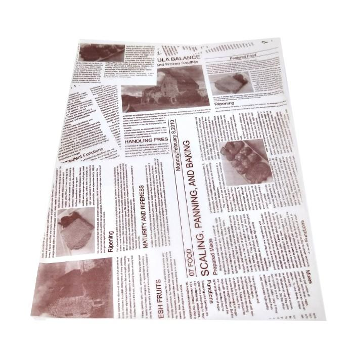 DIrect Factory Price Custom printed 40gsm food greaseproof paper for sandwich packaging-Kolysen