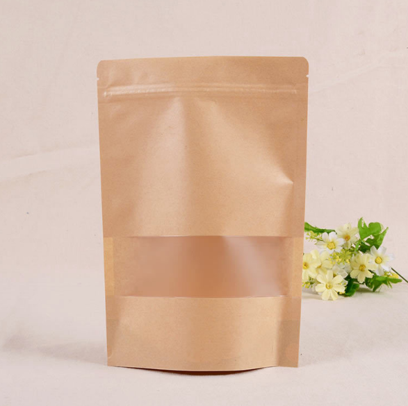 High-quality small brown bags with handles Suppliers used to pack dried fruit-5