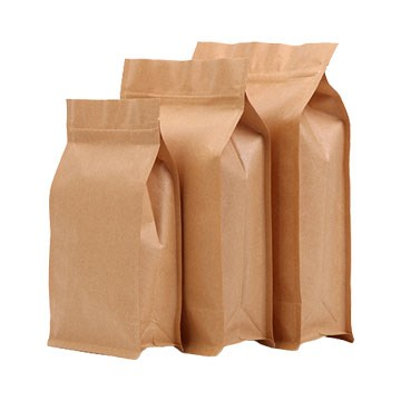 High-quality small brown bags with handles Suppliers used to pack dried fruit-7