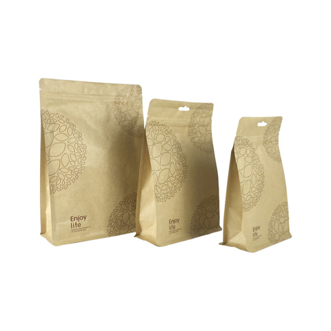 High-quality small brown bags with handles Suppliers used to pack dried fruit-8