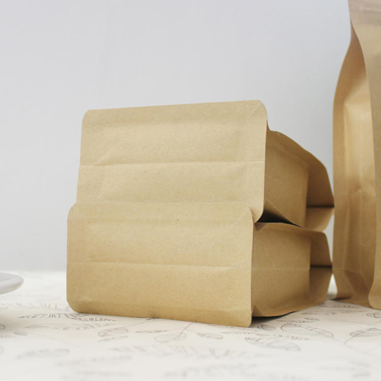 Kraft Paper Foil Lined Packaging Tea Bags