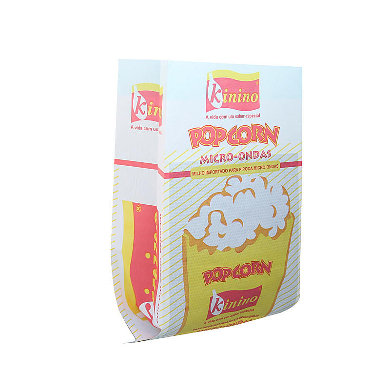 Kolysen Custom Printed Grease Proof Microwave Popcorn Bags
