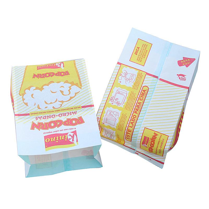 Kolysen Custom Printed Grease Proof Microwave Popcorn Bags