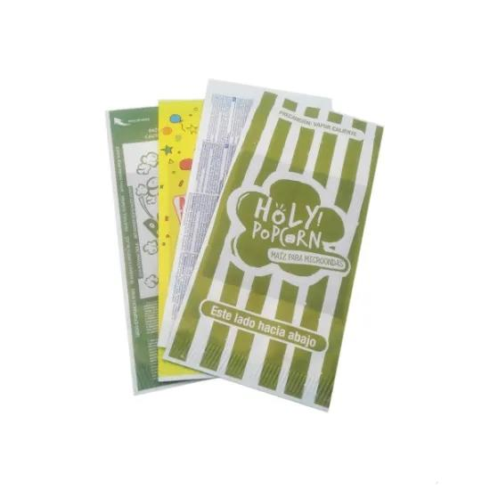 Microwave Popcorn Paper Bag