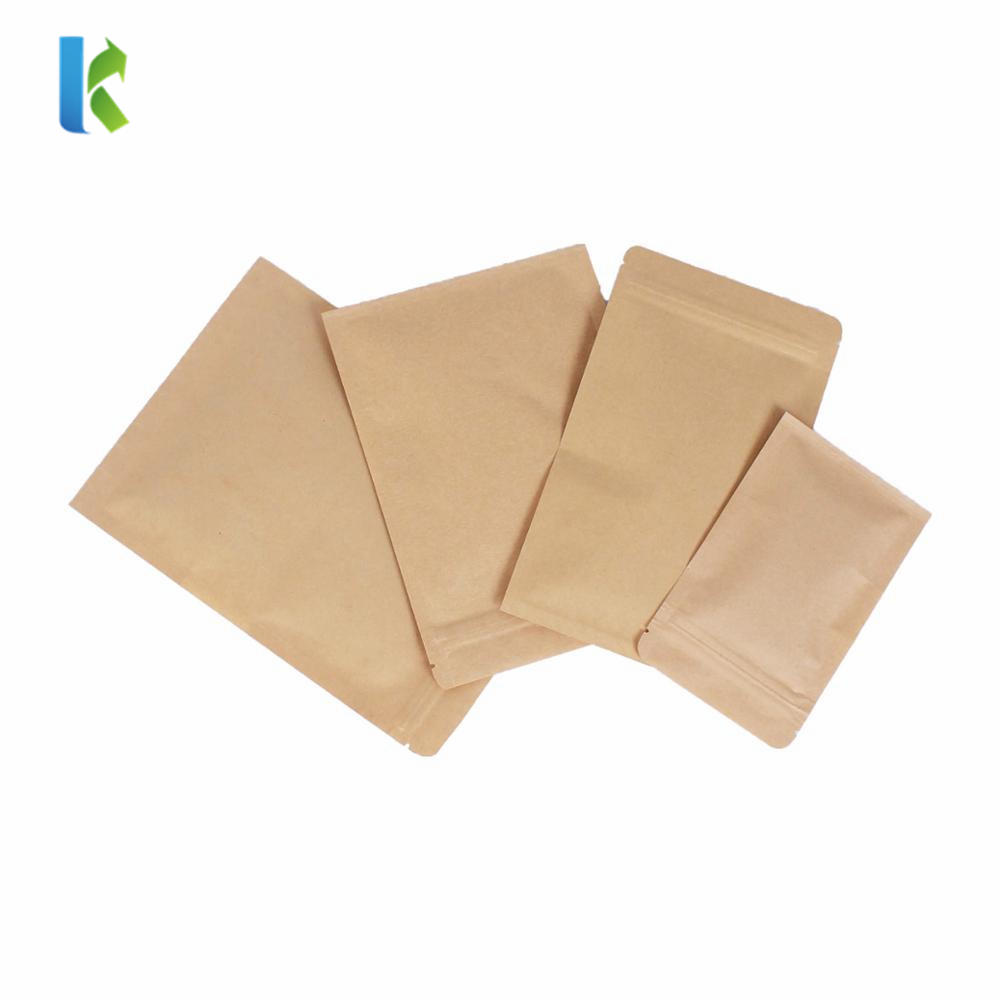Kraft Zipper Packaging Pouch