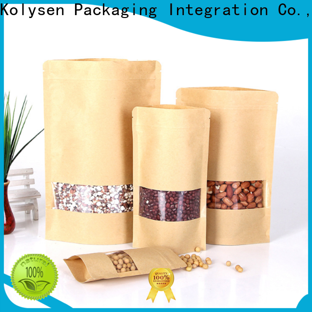 Custom stand up pouches manufacturers for food packaging