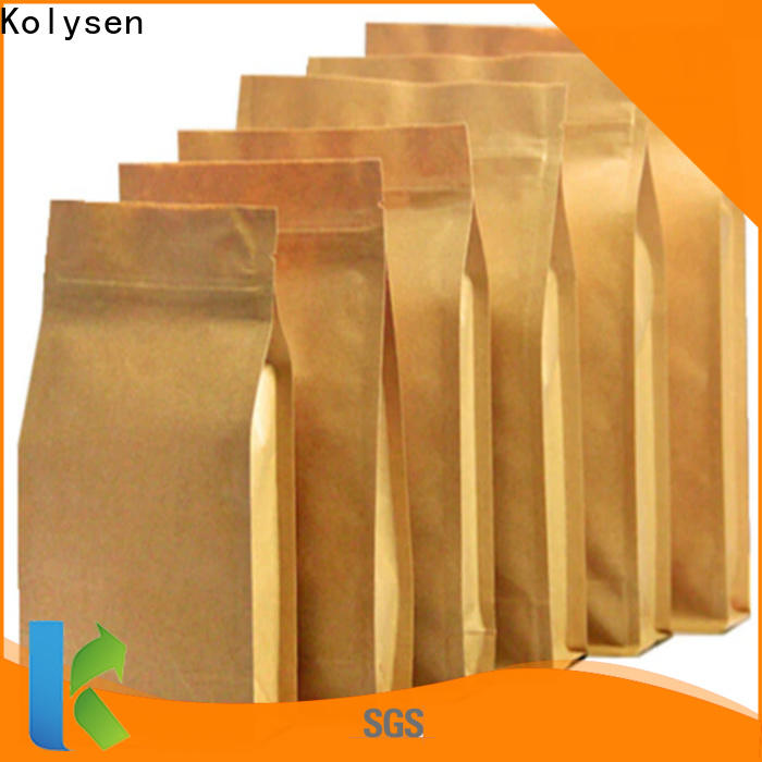 Kolysen High-quality paper stand company for food packaging
