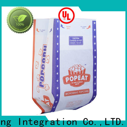 Latest popcorn bags for sale manufacturers for microwaving popcorn