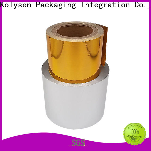 Kolysen gold wrapped chocolate china products online for wrapping confectionery