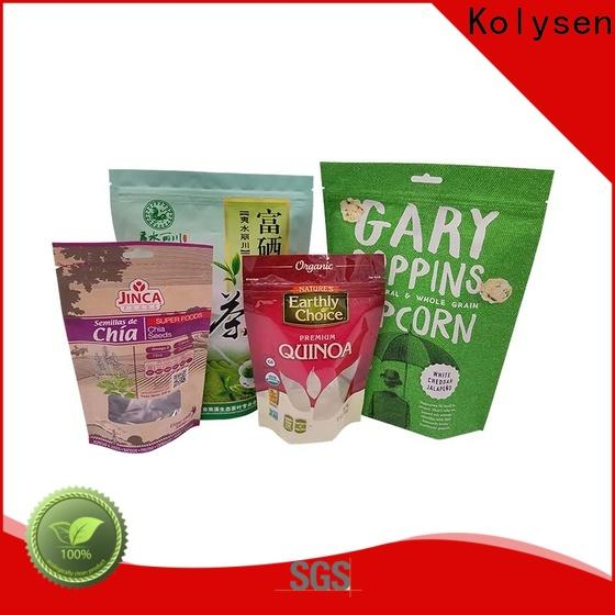 Kolysen Custom vacuum seal bags factory for wrapping fruit juice