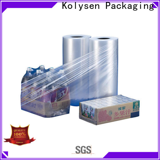 Kolysen Latest plastic films in food packaging Suppliers for Pre-forms and full body sleeve labels