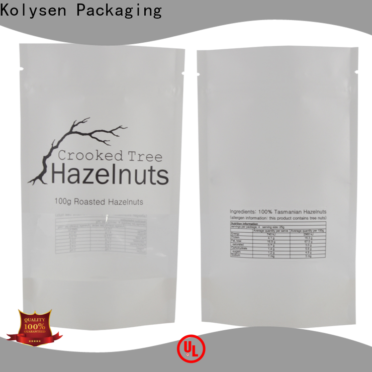 Kolysen side gusset pouches company for food packaging
