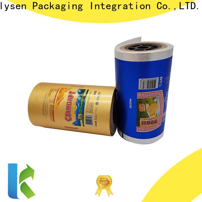 Kolysen chocolate foil wrap company pharmaceutical bottle neck