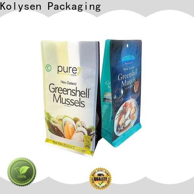 Kolysen Best stand up pouches for food packaging directly price for wrapping yoghurt