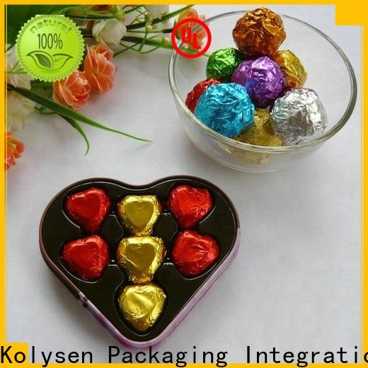 Kolysen High-quality chocolate foil wrapper manufacturers for pharmaceutical