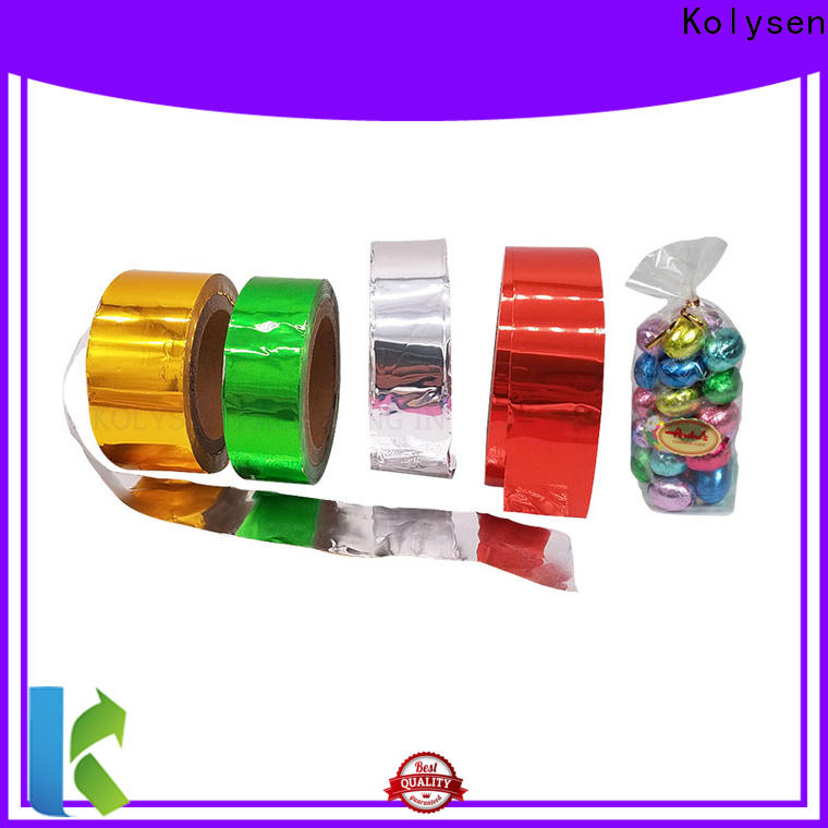 Top butter foil paper Suppliers for wrapping chewing gum