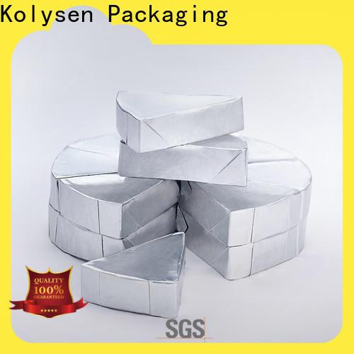 Kolysen Wholesale aluminum foil packaging Supply pharmaceutical bottle neck
