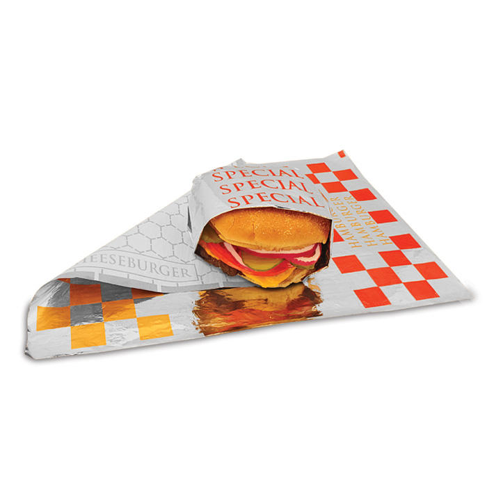 Custom Printed insulated foil sandwich wrap sheets
