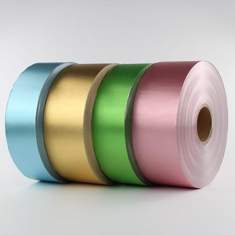 Chocolate Foil Wrapping Paper in Roll