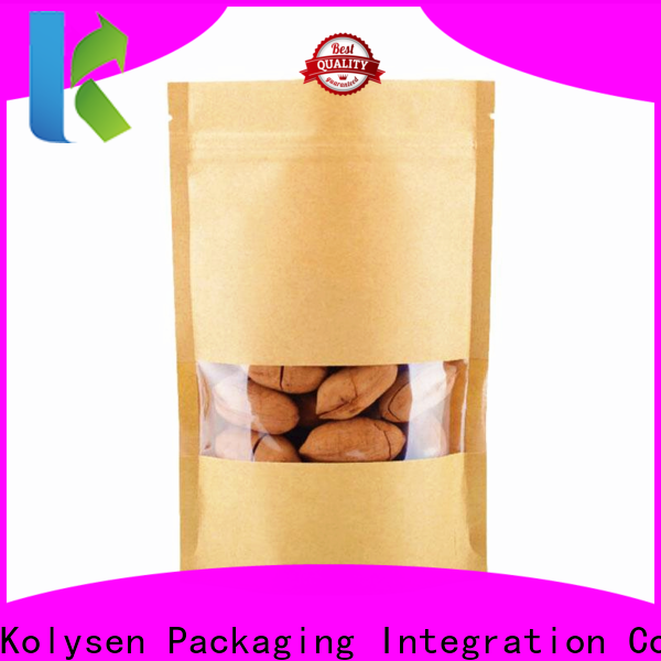 Kolysen abc packaging stand up pouches manufacturers for food packaging