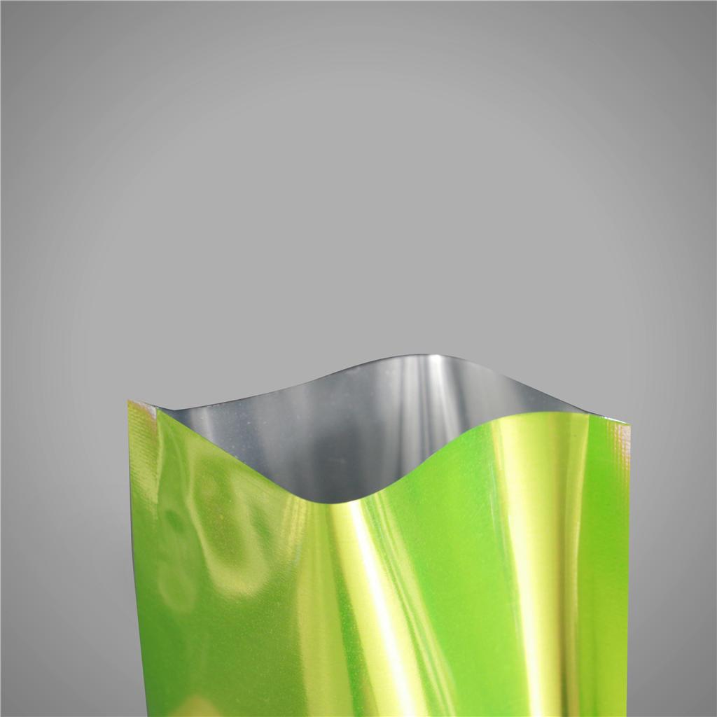 Flat Mylar Bag Heat Sealing Open Top Aluminum Foil Vacuum Package Pouch