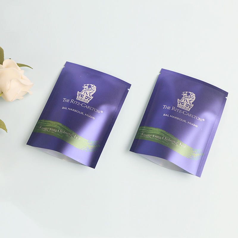 3 Side Seal Pouches for Tea Packaging