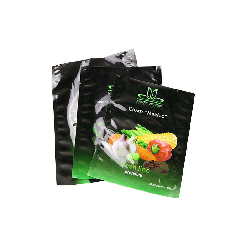 Customized Color Food Packaging Tea Bag Three-Side Sealing Plastic Composite Bag