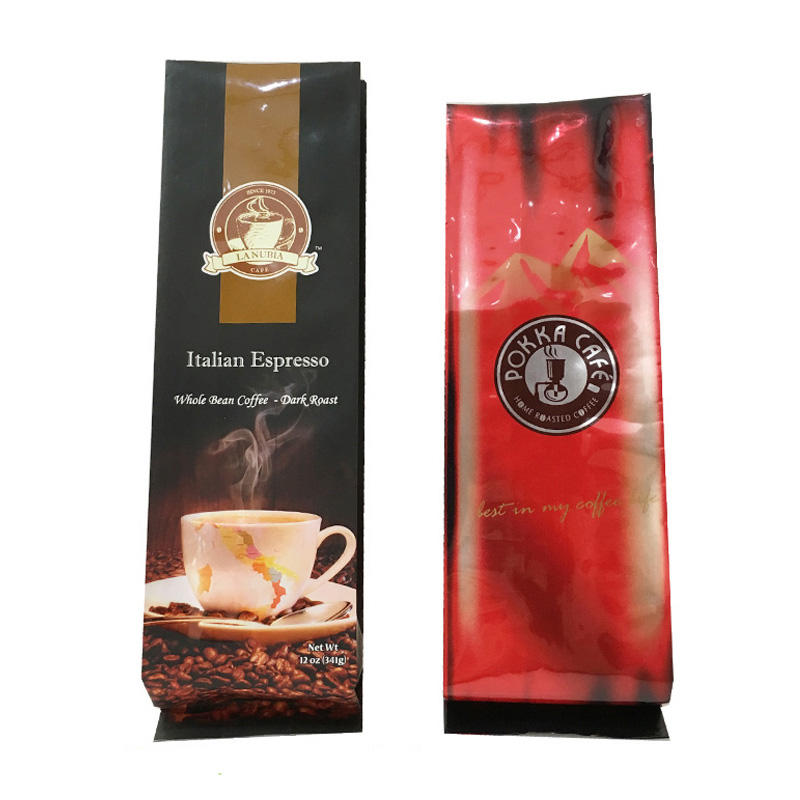 Powder Packaging Coffee Bag with Valve