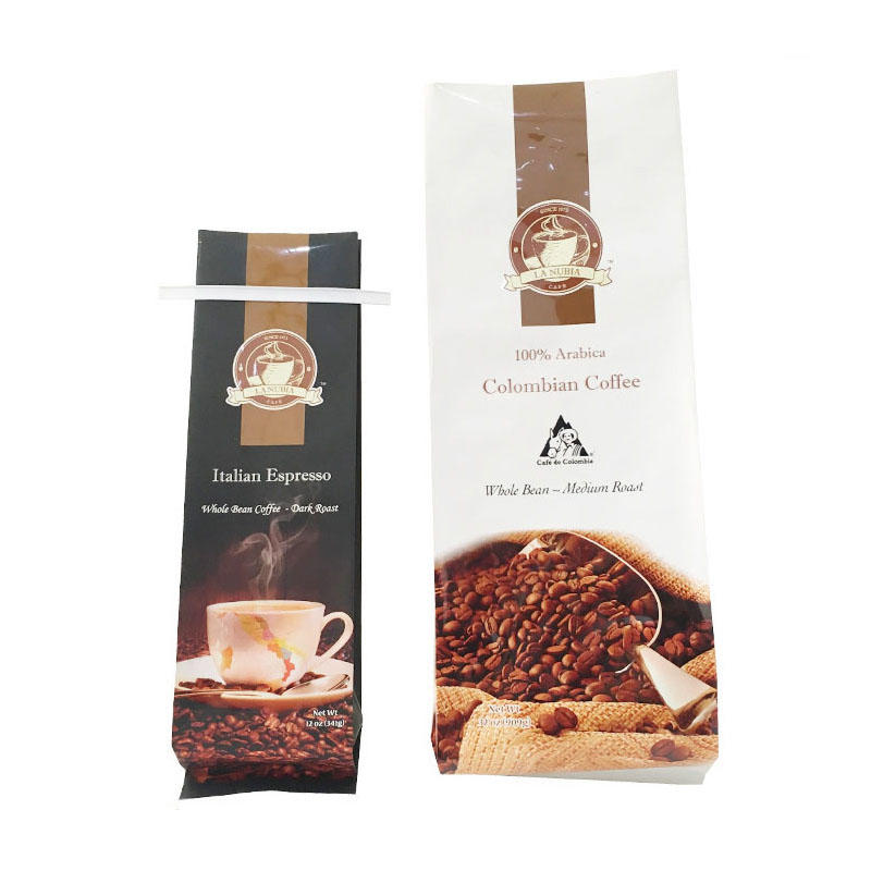 Custom Powder Packaging Coffee Bag with Valve