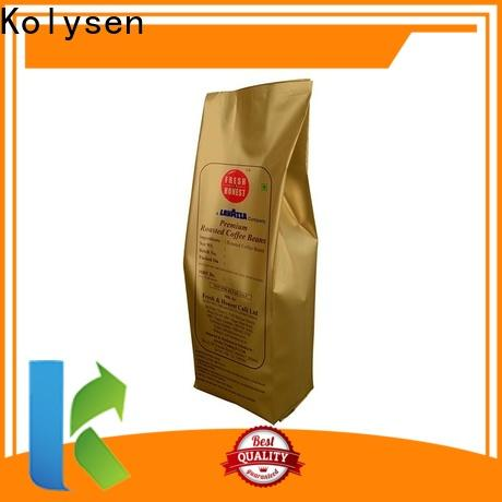Kolysen custom ziplock stand up pouch Supply used in electronics market