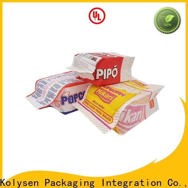 Kolysen Best burger bag Supply used in chemical market