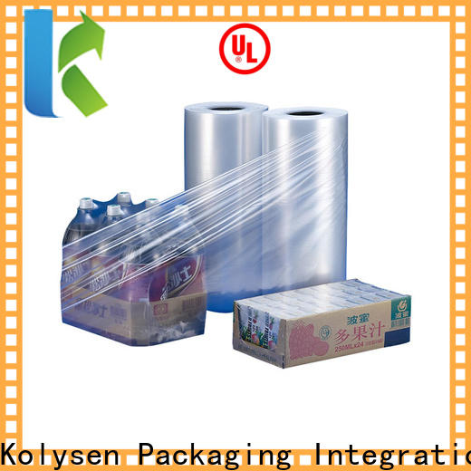 Custom plastic film roll company for food packaging