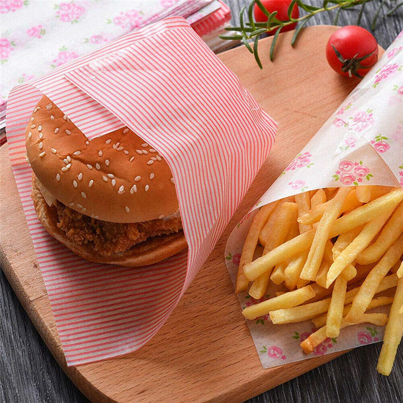 Waxed Paper Food Wrapping Greaseproof Food Paper