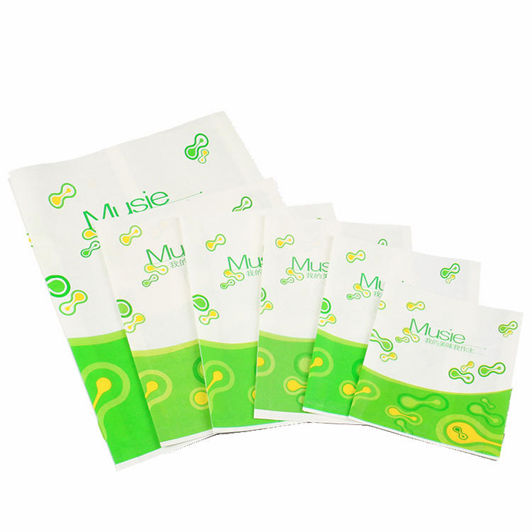 Customized Printing Food Grade Greaseproof Paper Bag
