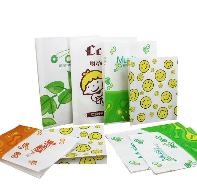 Greaseproof Paper Bag with Logo Printing