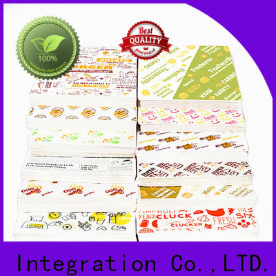 Custom wax paper packaging food for business for food packaging