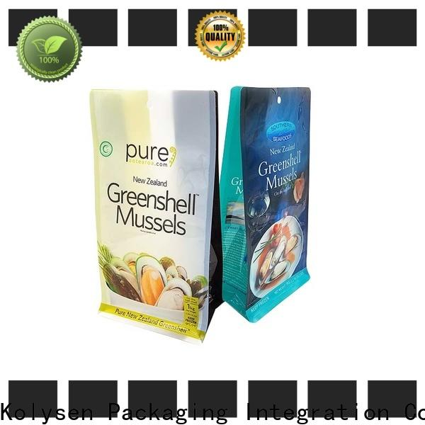 Kolysen High-quality vacuum seal bags for business for wrapping soft drink