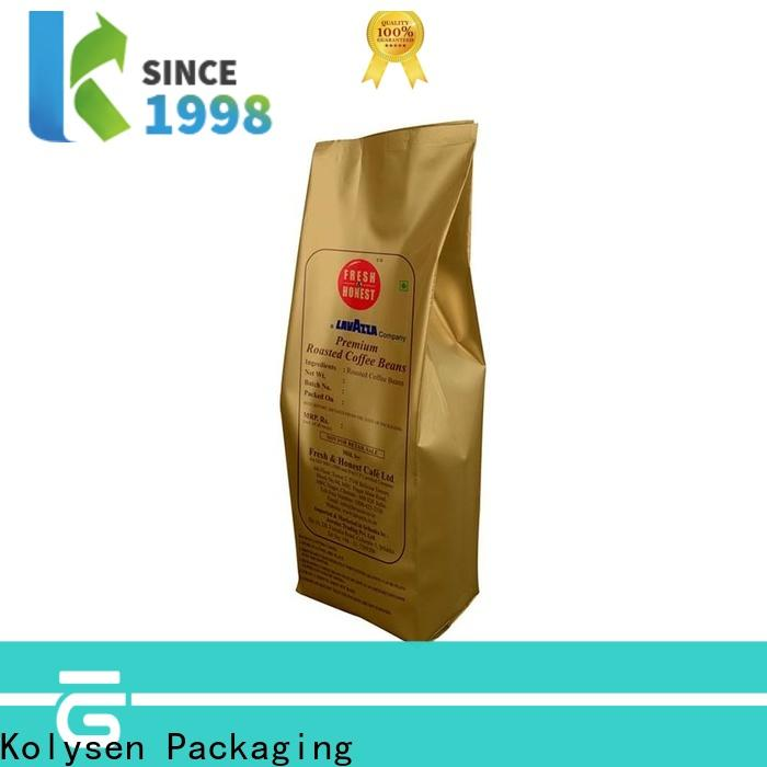 Kolysen paper food bags company used in chemical market