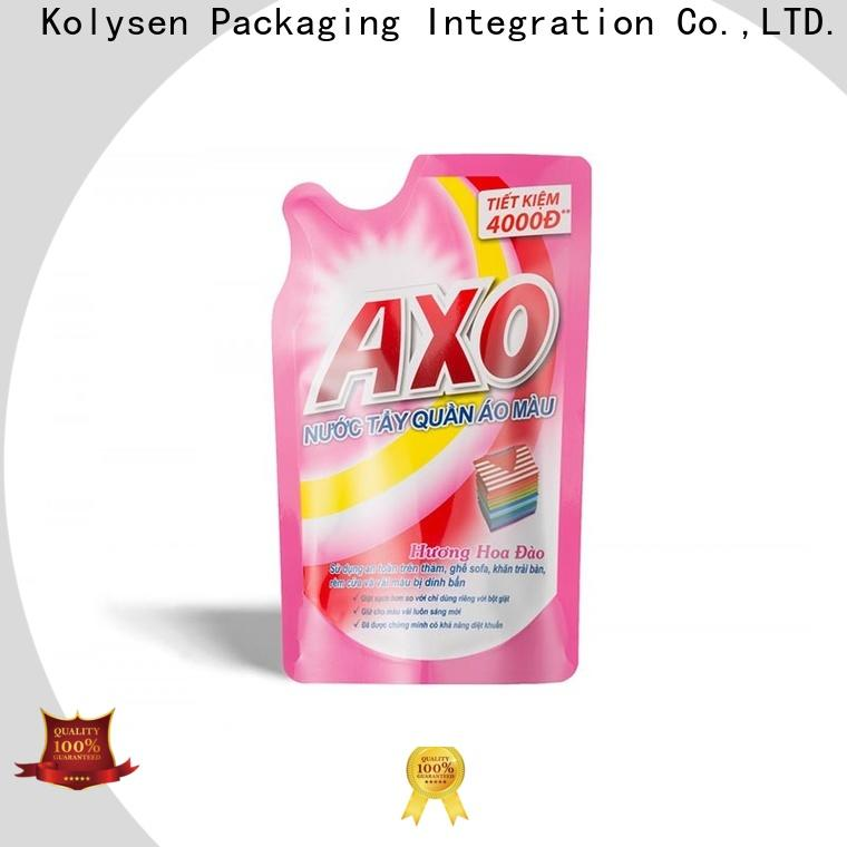 Kolysen rice paper stand up pouches Supply for wrapping fruit juice