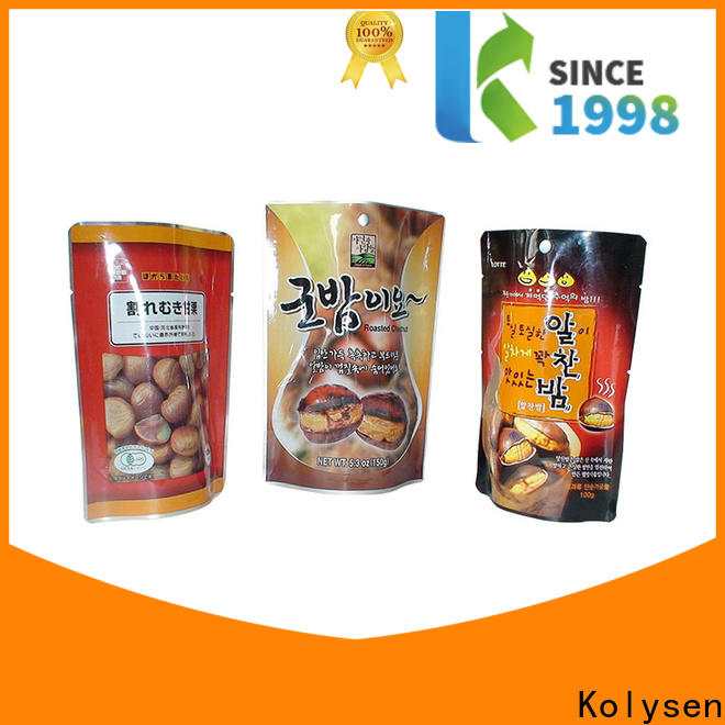 Kolysen Latest pp cup sealing film factory used in food and beverage