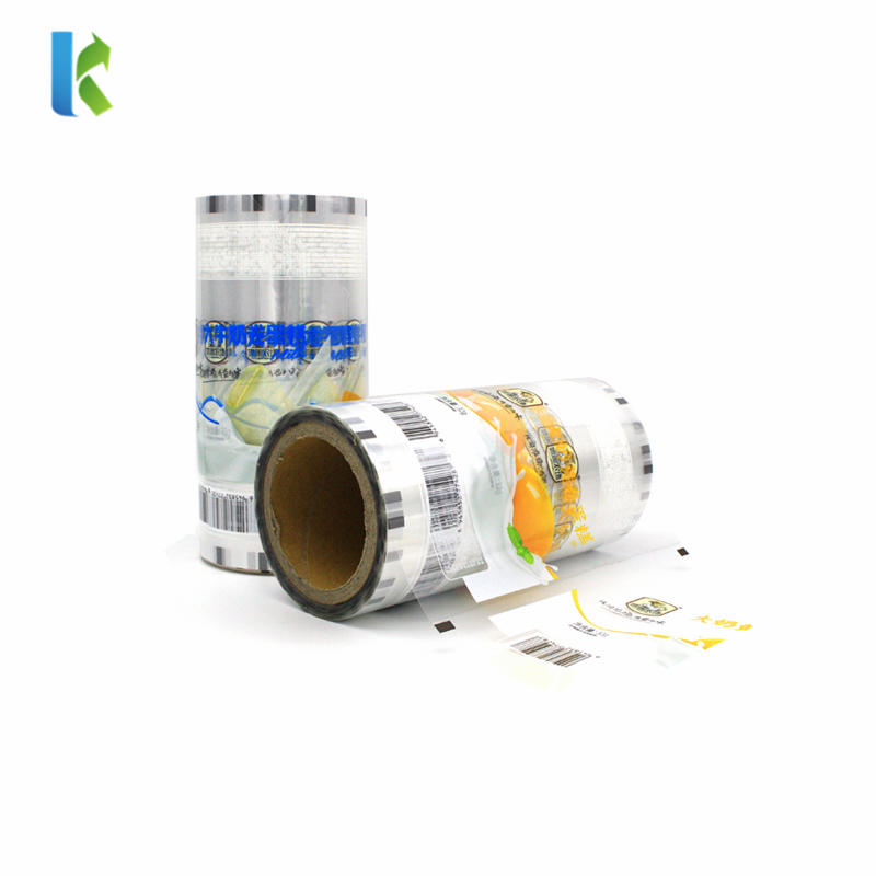 Clear Film Packaging Plastic Rolls for Powder Spice Condiment