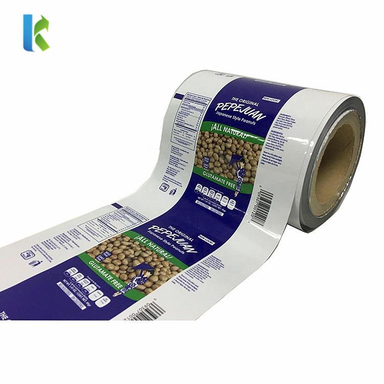 Sachet Packaging Roll Film for Snack