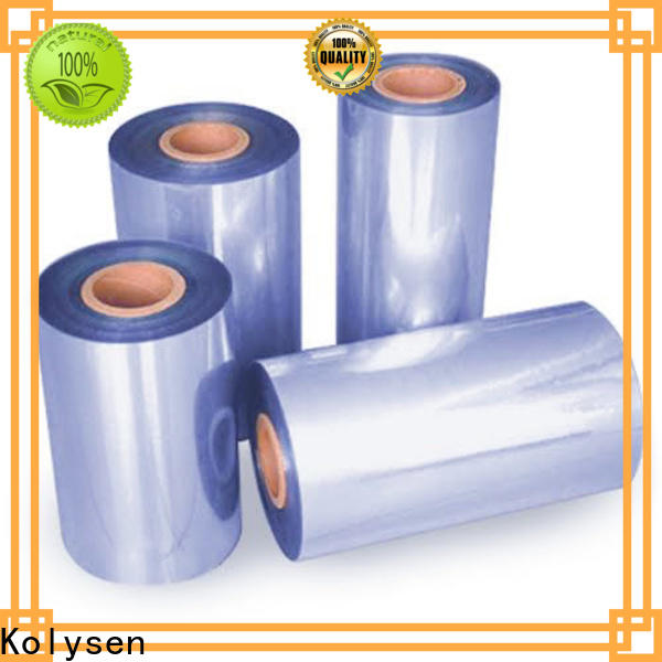 Kolysen High-quality manufacturer of pvc film factory used in food and beverage