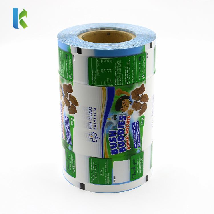 Custom Flexible Packaging BOPP Laminating Roll Film for Cookies/Biscuit