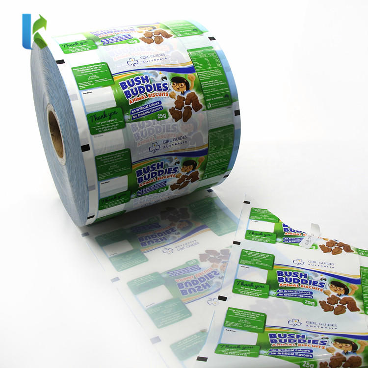 BOPP Laminating Roll Film for Cookies/Biscuit