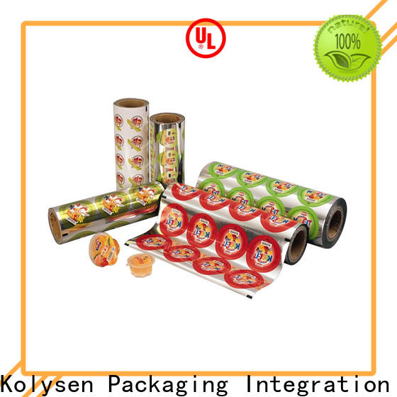 Kolysen standup food sealer bags company for wrapping beverage