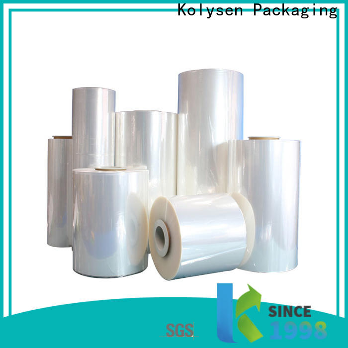 Kolysen plastic film packaging factory for Pre-forms and full body sleeve labels