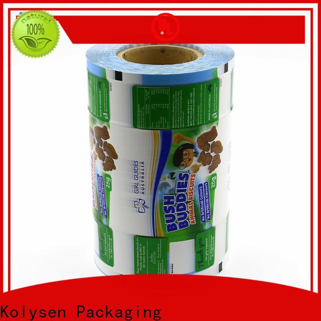 Kolysen Wholesale custom printed shrink wrap film manufacturers for food packaging