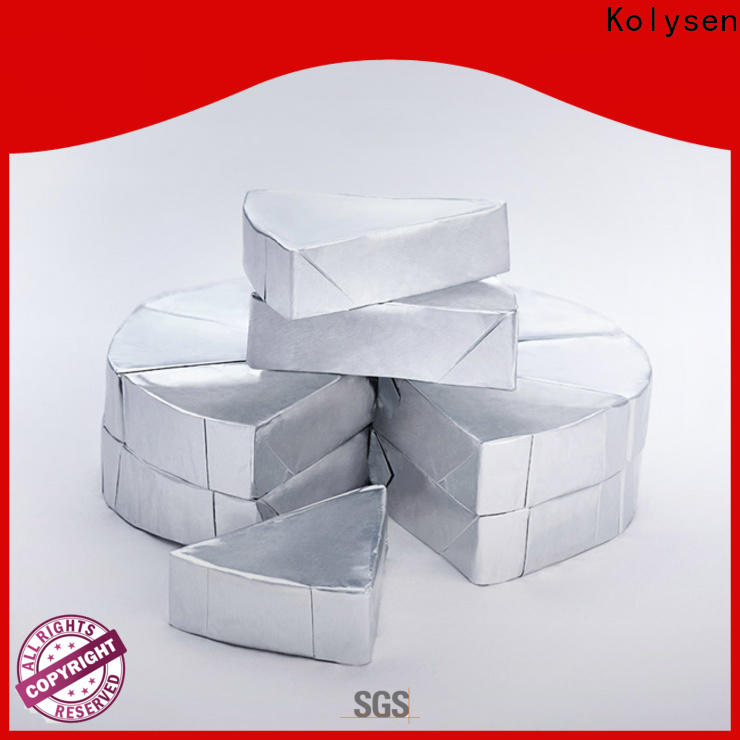 Kolysen foil wrapping paper wholesale products for sale for wrapping butter/margarine