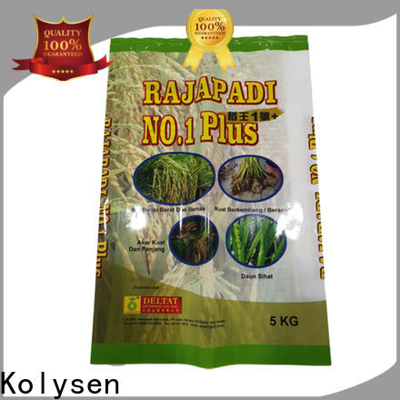 Kolysen laminated pouches manufacturers for potato chips packaging
